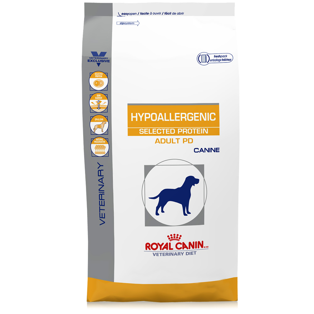 ROYAL CANIN Canine Hypoallergenic Selected Protein Adult PD (17.6 lb)