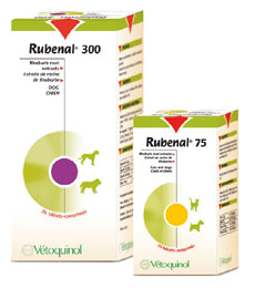 Rubenal 300mg for Dogs (60 tabs)