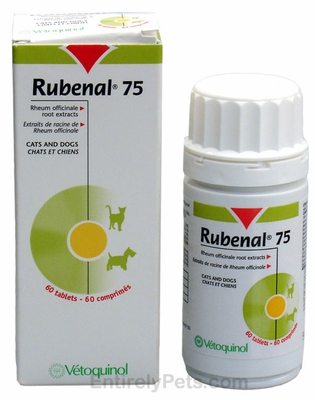 Rubenal 75mg for Cats and Dogs (60 tabs)