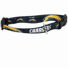 San Diego Chargers Dog Collar - Large