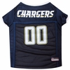 San Diego Chargers Dog Jersey - XSmall