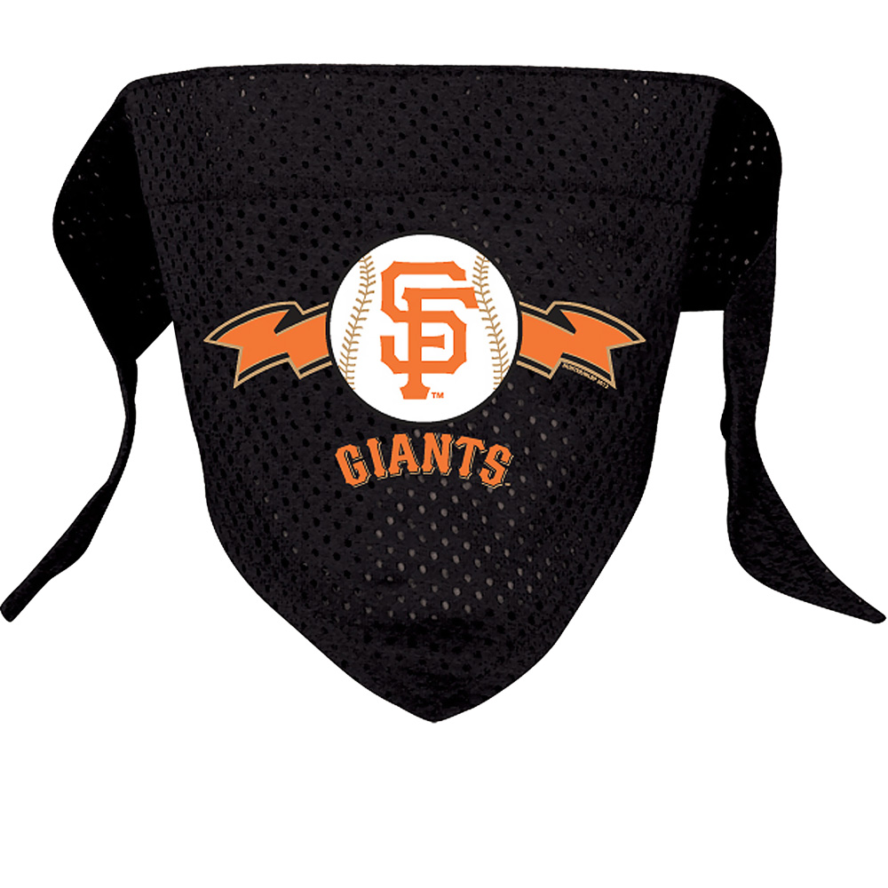 San Francisco Giants Dog Bandanas