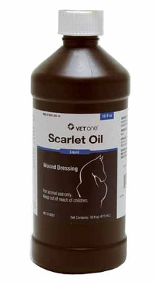 Scarlet Oil Wound Dressing (16 oz)