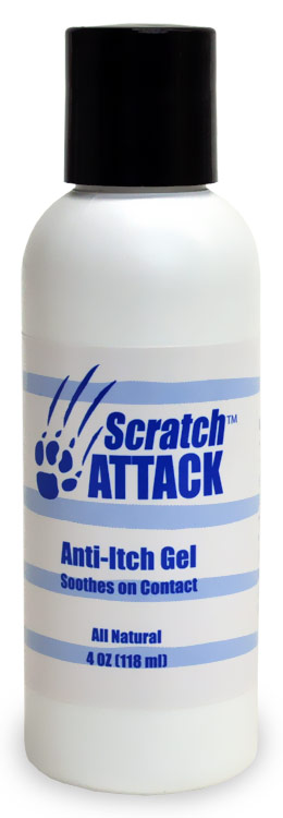 Scratch Attack Anti-Itch Gel (4 oz)