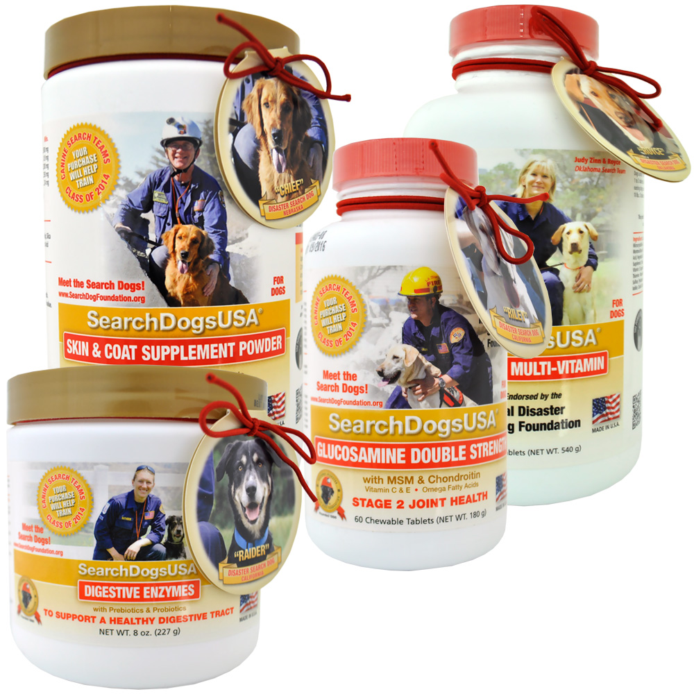 SearchDogsUSA Wellness Pack