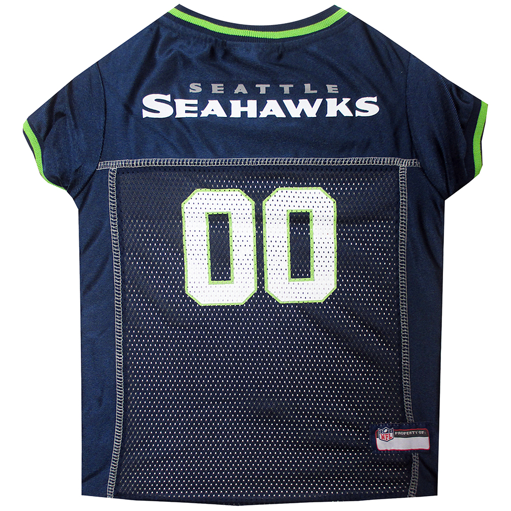 Seattle Seahawks Dog Jerseys