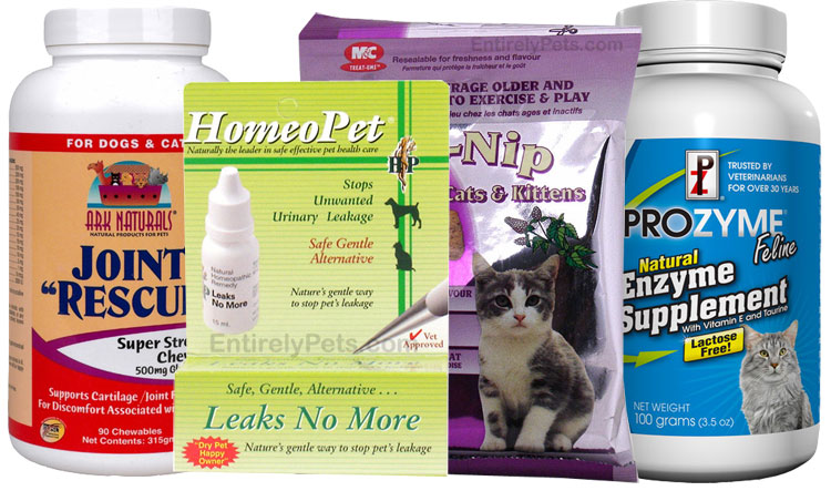 Senior Pet Products for Cats