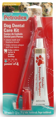 Sentry HC Petrodex Dental Care Kit Poultry Flavor Dogs
