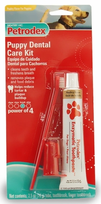 Sentry HC Petrodex Dental Care Kit Poultry Flavor Puppy