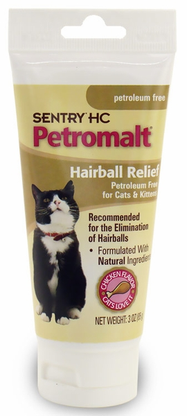 Sentry HC Petromalt Hairball Relief (3 oz)