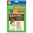 Sentry HC WormX Plus Small Dogs & Puppies 6-25 lbs (12 tablets)