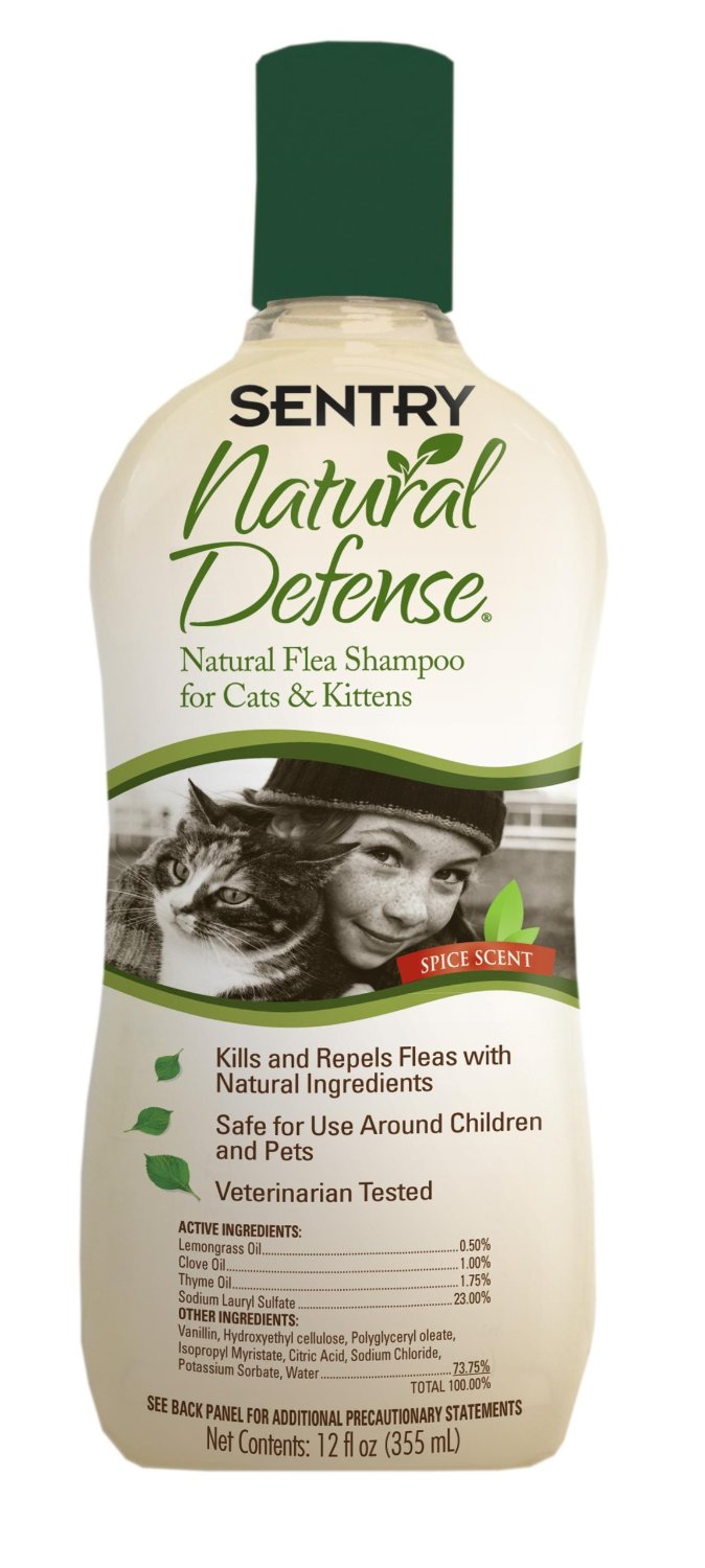 Sentry Natural Defense Cat Shampoo (12 oz)