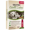Sentry Natural Defense Flea & Tick Squeeze-On for Dogs over 40 lbs (4 pack)