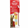 SENTRY Petrodex Dental Kit for Dogs - Natural Peanut Toothpaste