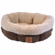 Shearling Round-Coffee Liqueur Chenille - 21""