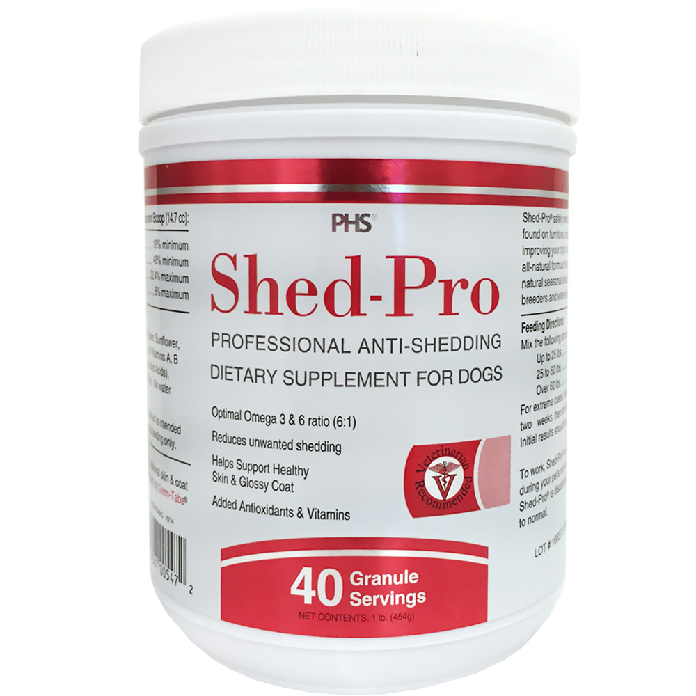 Shed-Pro Granules for Dogs (40 Servings)