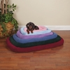 Sherpa Crate Bed Slate Blue (35.75 x 22.75 In)