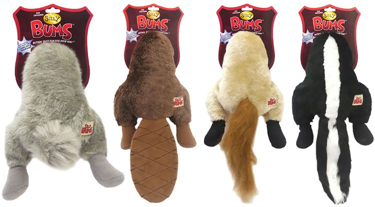 Silly Bums® Dog Toys