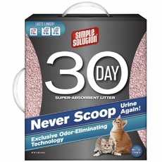 Simple Solution 30-DAY Super Absorbent Cat Litter (9 lbs)