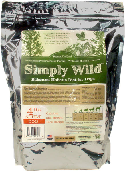 Simply Wild All-Natural Pet Food