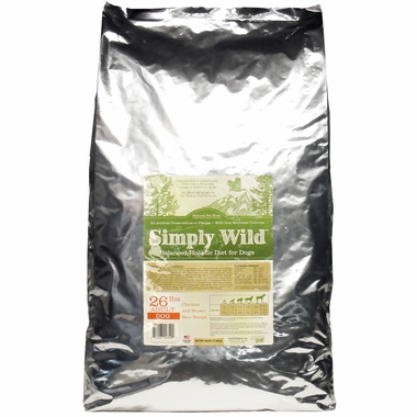 Simply Wild™ Chicken & Brown Rice Dog Food (26 lbs)