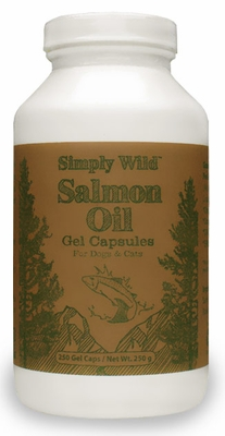 Simply Wild Salmon Oil Gel Capsules (250 Caps)