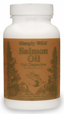 Simply Wild Salmon Oil Gel Capsules (60 Caps)