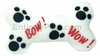 "Singing ""Bow Wow"" Dog Bone - WHITE"