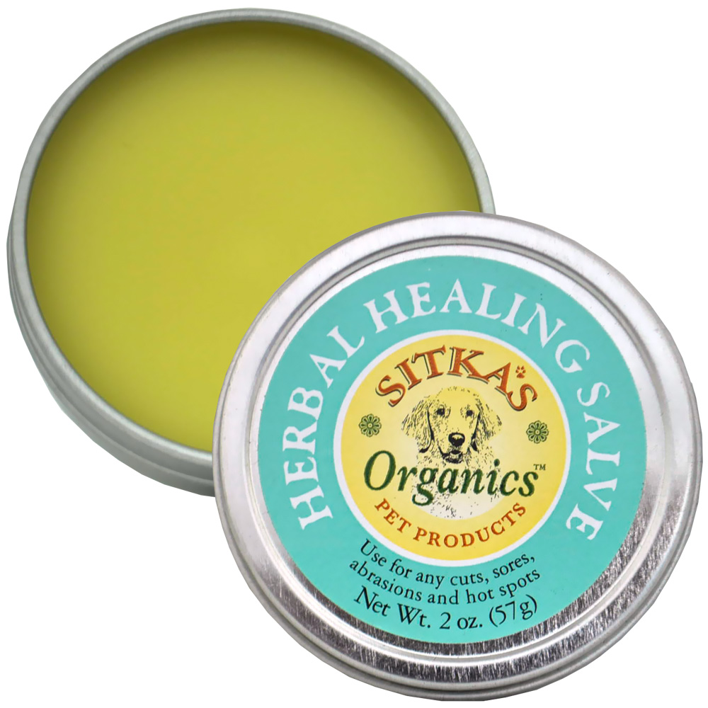 Sitka's Organic Herbal Healing Salve (2 oz)