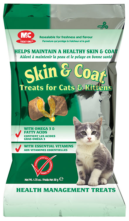 Skin & Coat Treats for Cats & Kittens (1.75 oz)