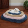 Slumber Pet Comfy Crate Bed Blue - Medium