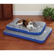 Slumber Pet Cool Pup Bed 42x28 Inches - Blue