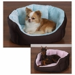 Slumber Pet Dimple Plush Nesting Bed Blue (18 In)