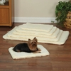 Slumber Pet Double Sided Sherpa Mat Natural - Small