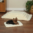 Slumber Pet Double Sided Sherpa Mat Natural - XSmall