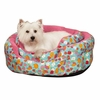 "Slumber Pet Fruit Frenzy Nesting Pet Bed 18"" - Pink"