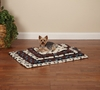Slumber Pet Pawprint Crate Mat Ivory - Small (1.5x16.5x12.5 In)