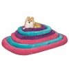Slumber Pet Pet Bright Terry Crate Bed Medium - Blue