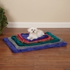 Slumber Pet Plush Mat Hunter Green - Small (18x13 In)