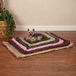 Slumber Pet Water Resistant Bed Black - Medium/Large (7x23x7 In)