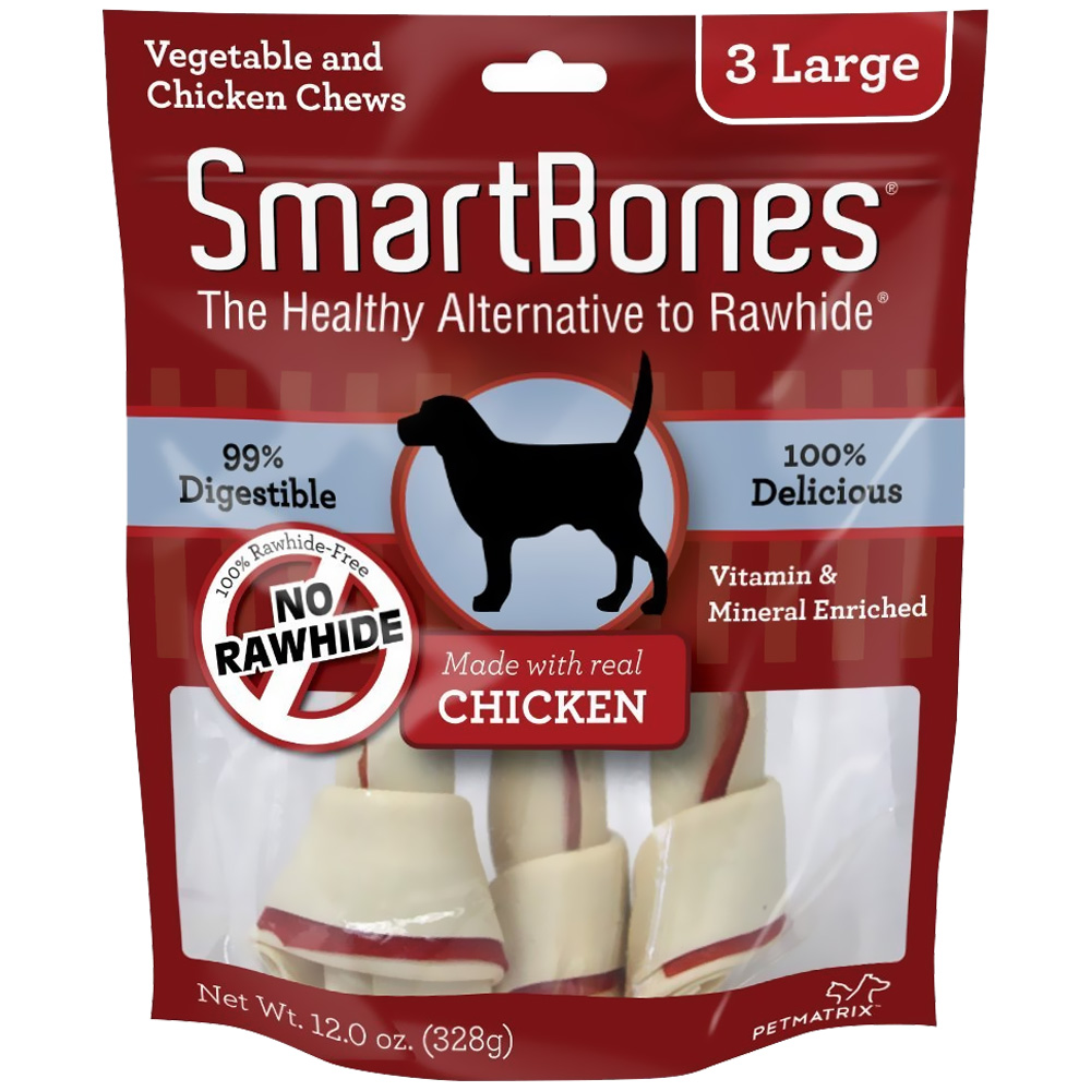SmartBones® Large Chicken Chews (3 pack)