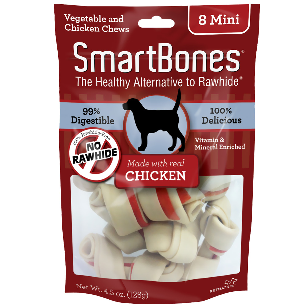 SmartBones® Mini Chicken Chews (8 pack)