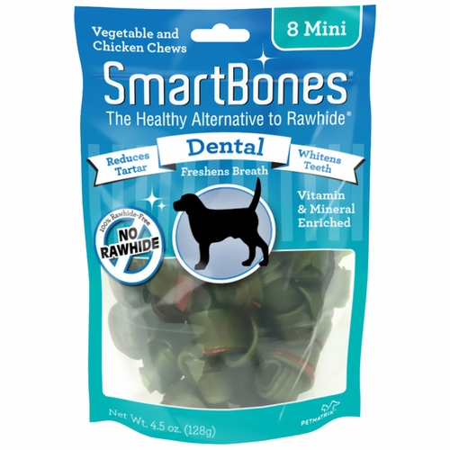 SmartBones Mini Dental Chews (8 pack)