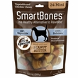 SmartBones Mini Peanut Butter Chews (24 pack)