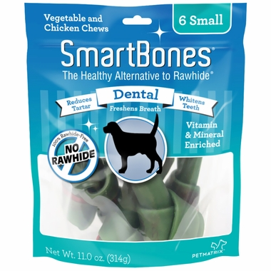 SmartBones Small Dental Chews (6 pack)