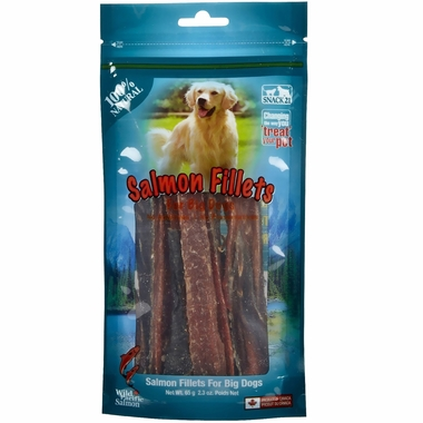 Snack 21 Salmon Jumbo Fillets for Big Dogs (65 g)