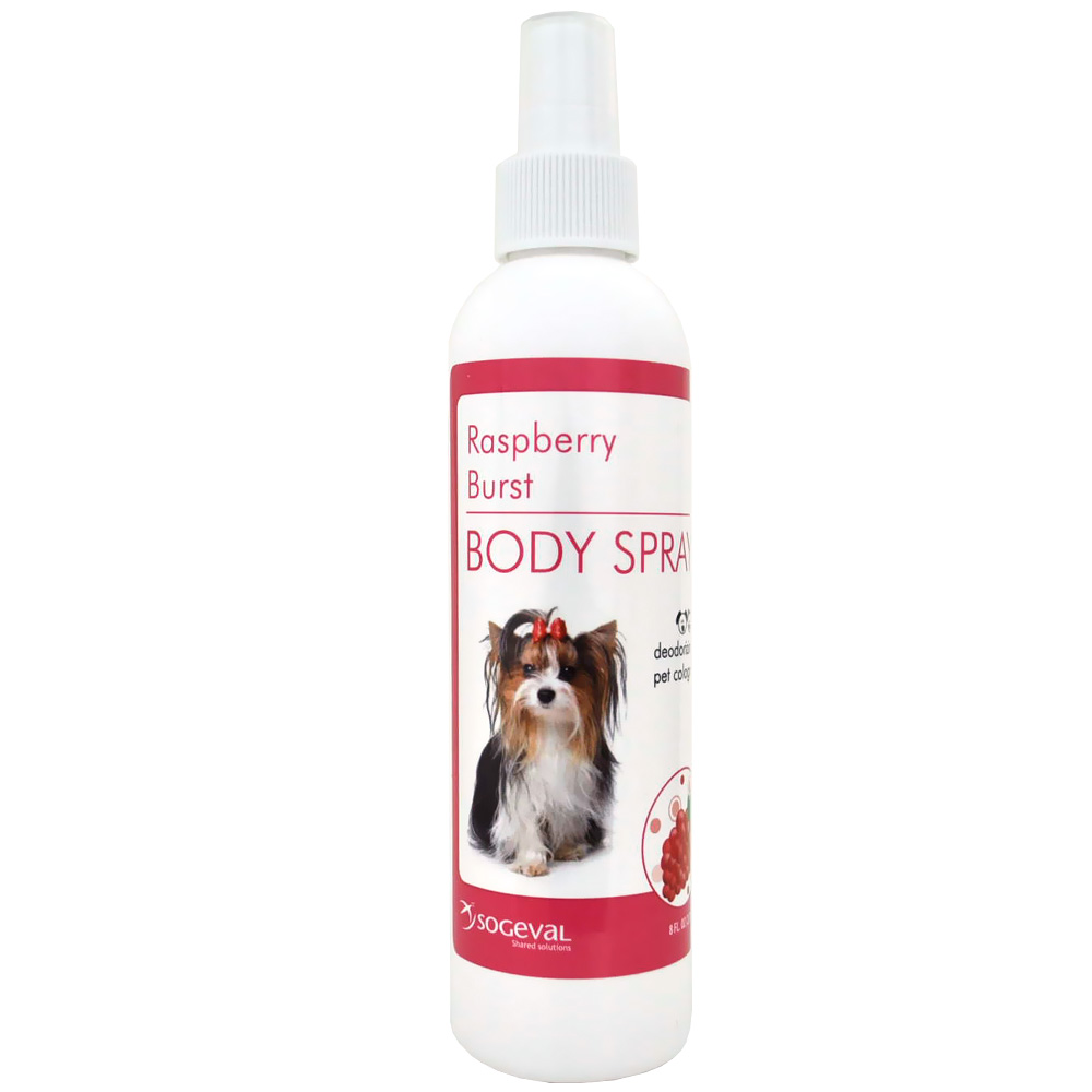 Sogeval Body Spray Raspberry Burst Pet Cologne (8 oz)