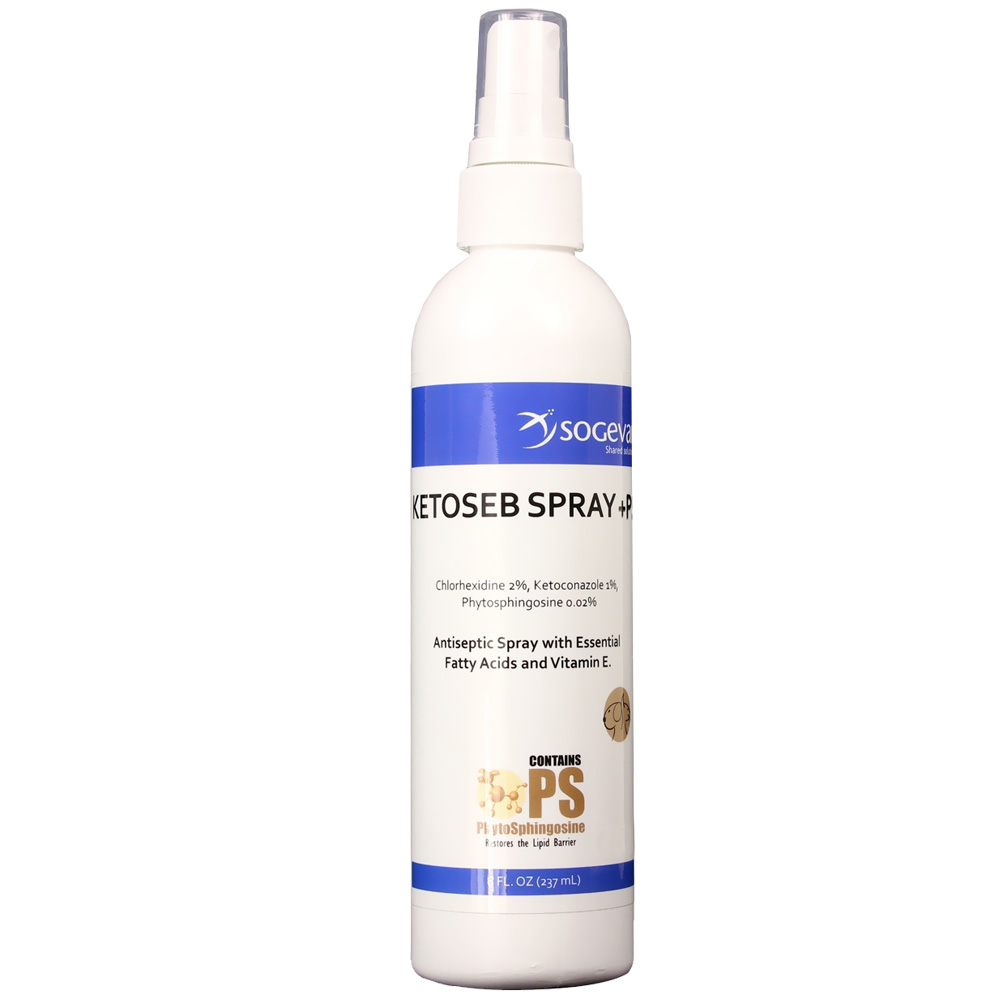 Sogeval Ketoseb Spray + PS (8 oz)
