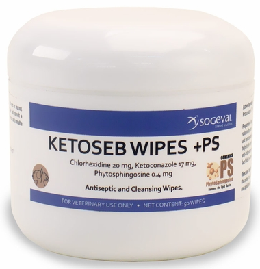 Sogeval Ketoseb Wipes +PS (60 ct)