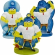 Spongebob Pumped Up Aquarium Ornament Set